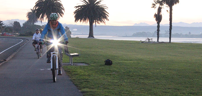 The Right Bike Lights for Commuting