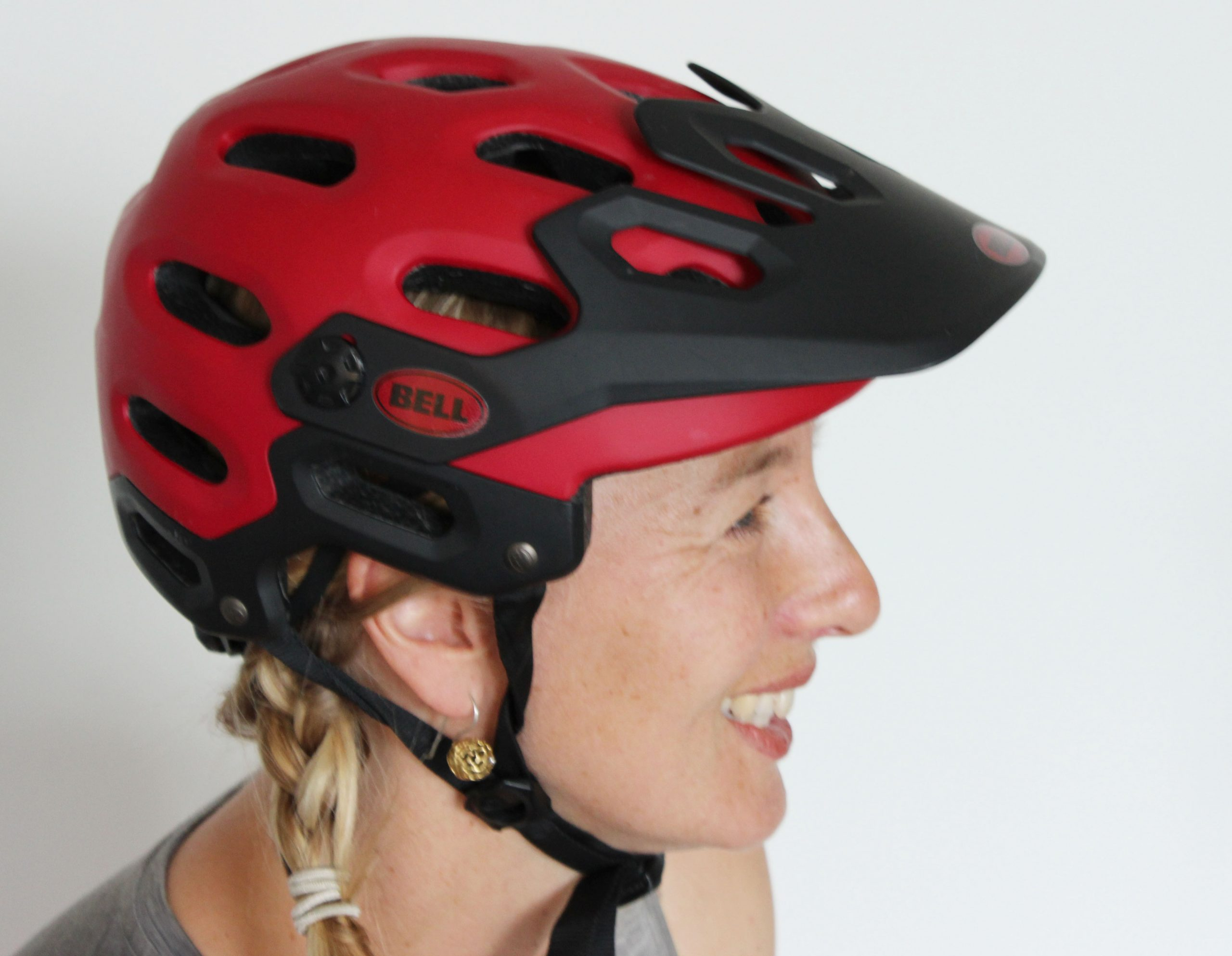 How are you wearing your helmet?