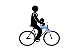 WP Forms - Front Child Bike Seat