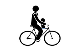WP Forms - mid child bike seat