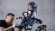 Seat & Toddler Helmet - First time on a bike