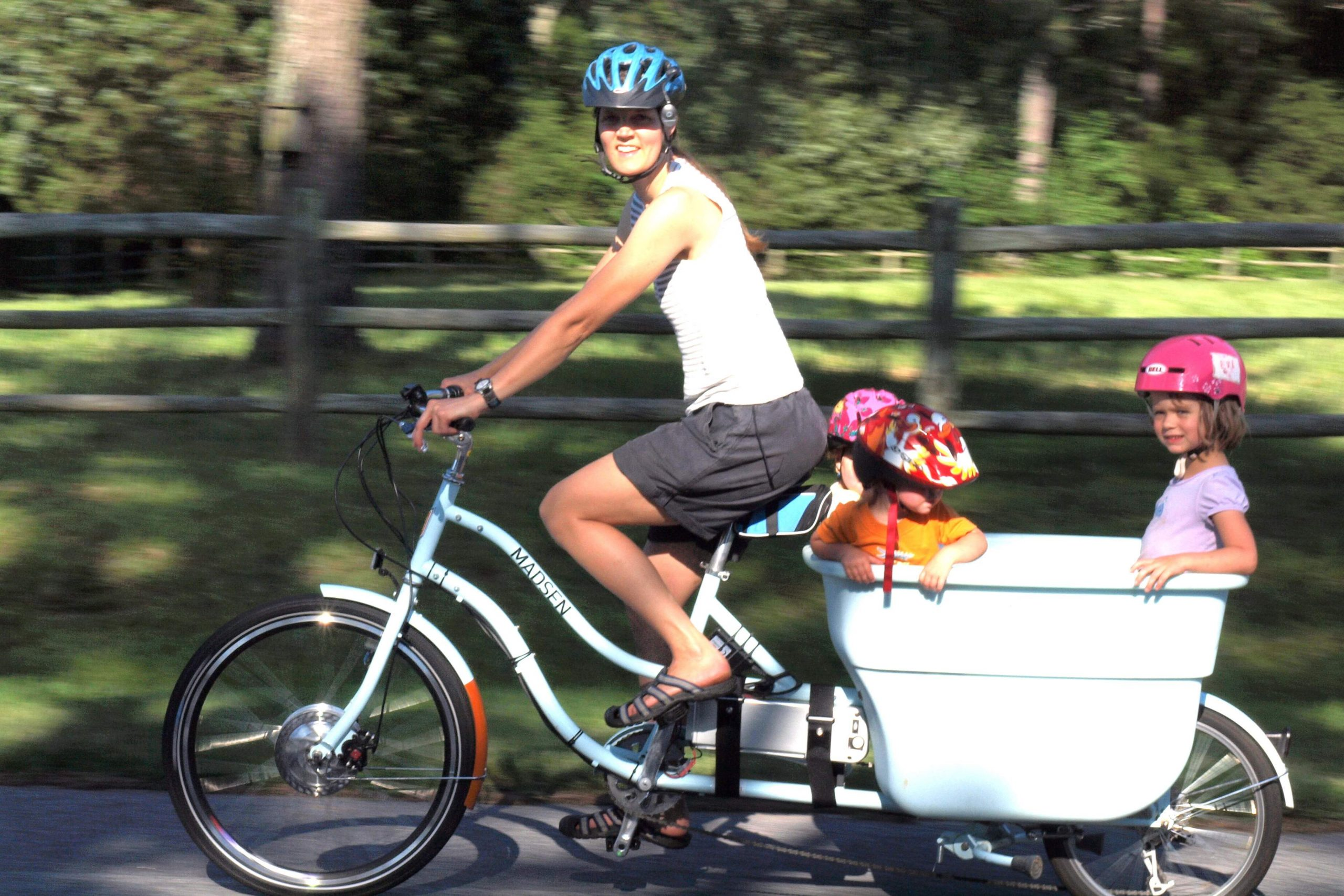 How to do MORE riding with a toddler or 2