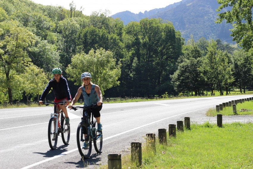 Riding with friends. goRide