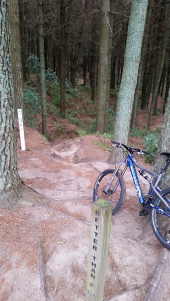 Mountain Bike Park, full suspension mtn bike