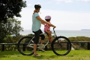 Mid mount kids seat & recreation helmet combo - go explore
