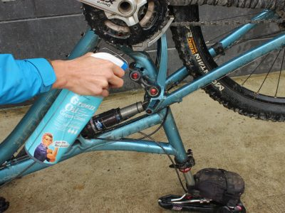 Bike cleaner ready to go spray goRide