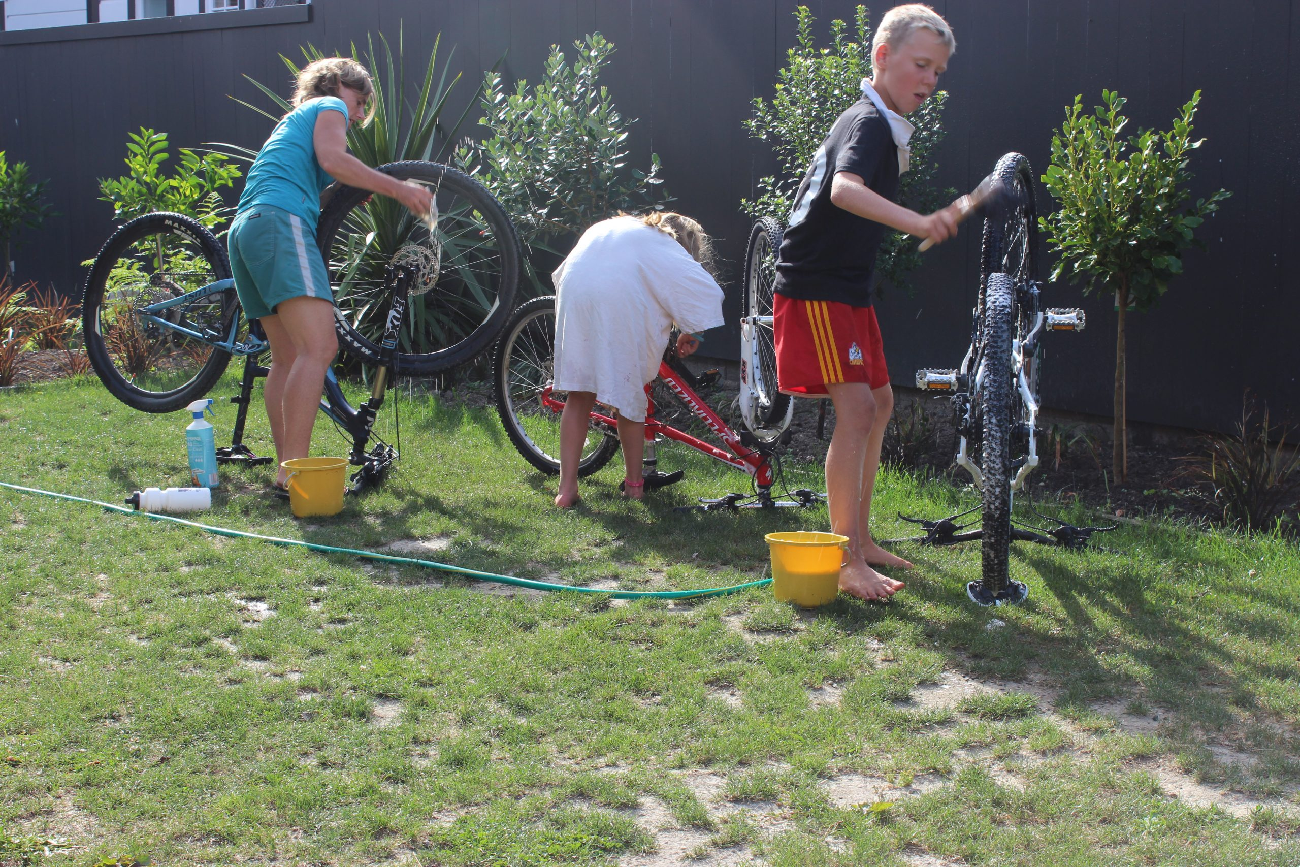 Bike Cleaning for the Kids & You