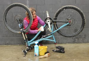 Bike cleaning bamboo sustainable cloth goRide