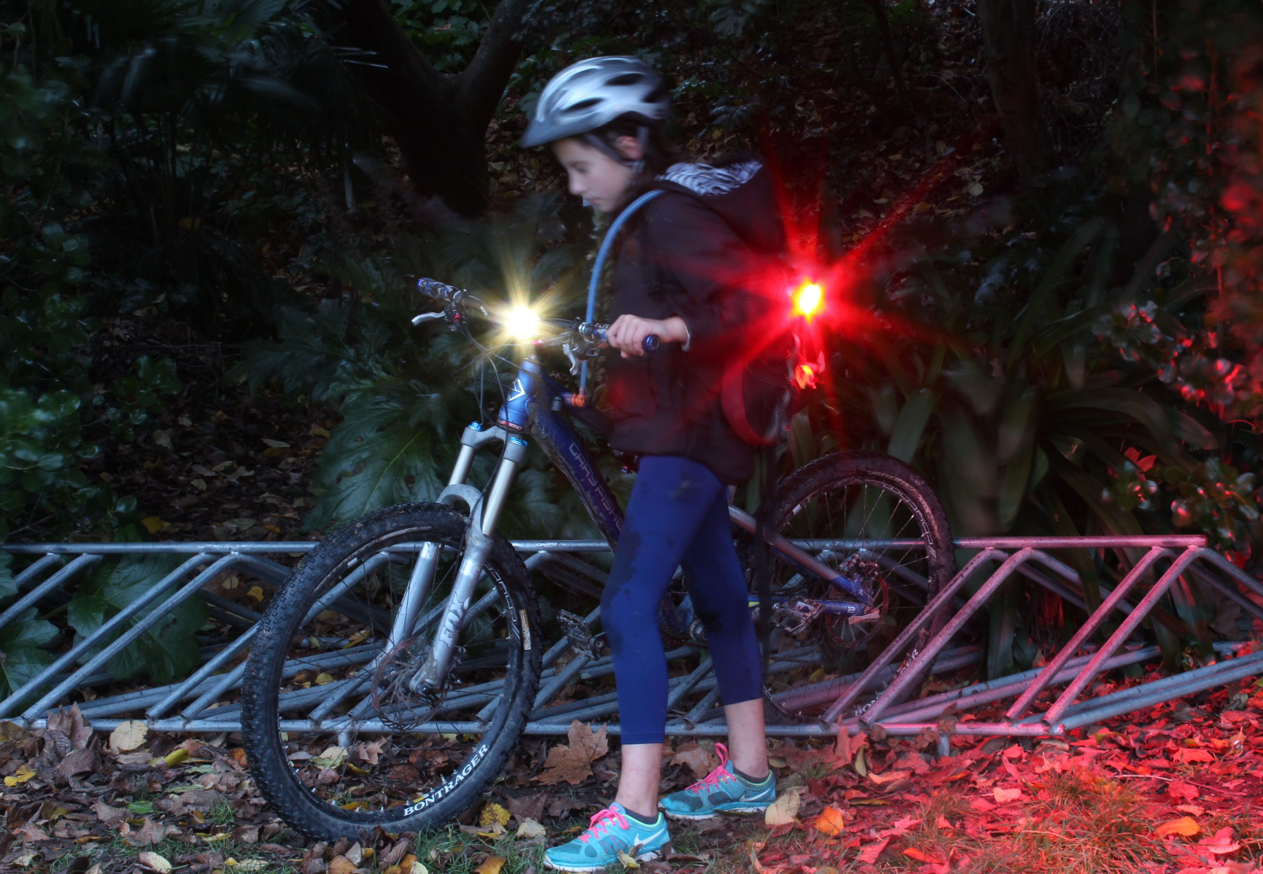 The Right Bike Lights for Town Riding