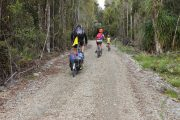 Kids Waterproof jacket & pant - NZ Cycle trails