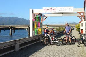 West coast Wilderness Trail official start goRide