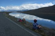 Trailing 1/2 bike - NZ cycle trails with family