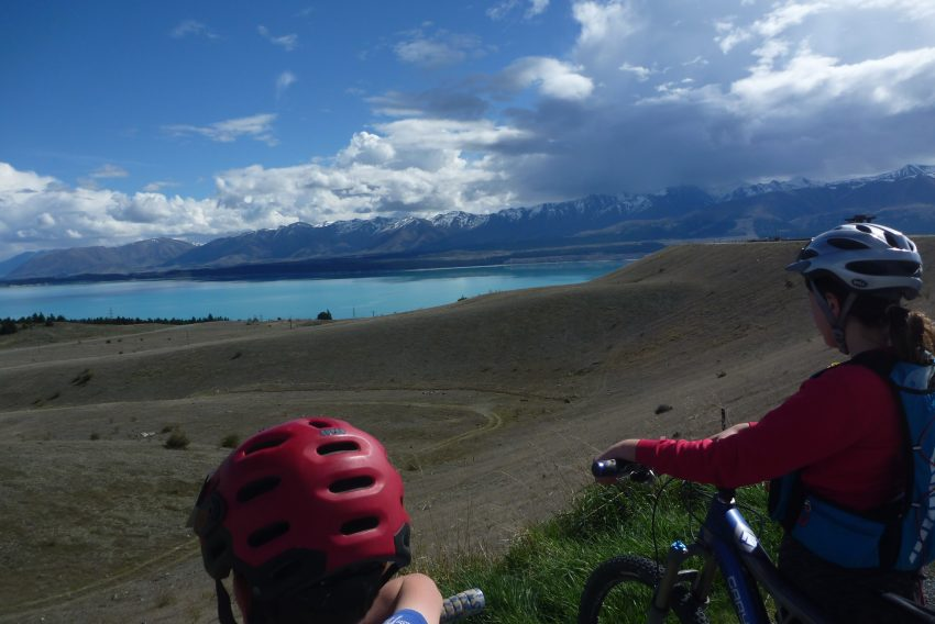 View from Hydro Dam. Alps to Ocean. goRide