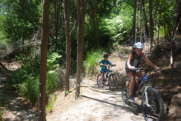A great day riding with kids - Kaiteriteri Mountain Bike Park