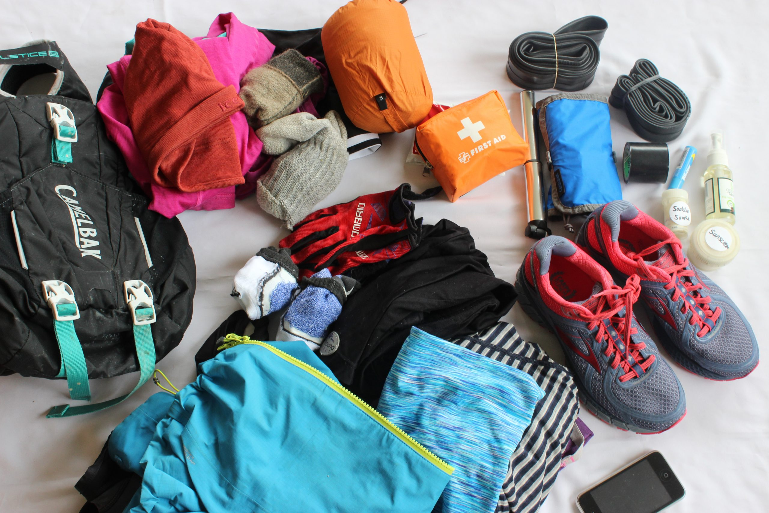 First Aid & Emergency Kit for Bike Touring