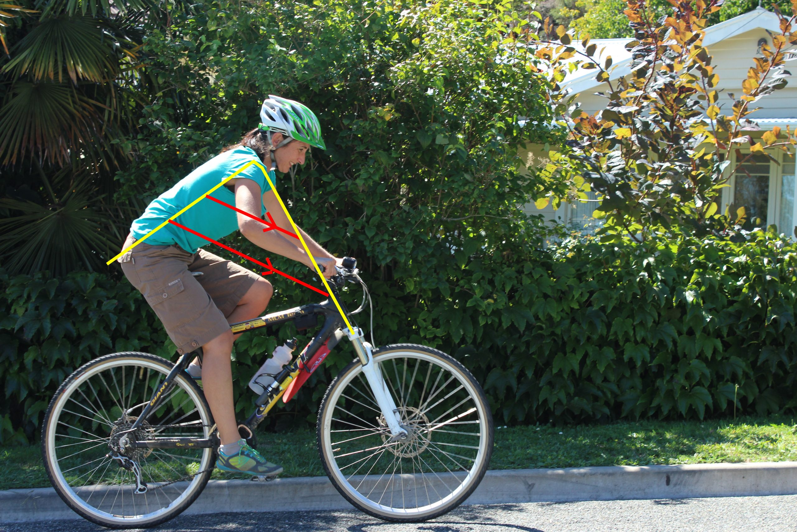 Video – Correct riding position for biking – Chi Riding