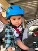 Toddler Helmet & Handlebar grip combo - first time riding