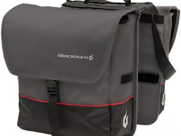 Rear carrier panniers. How to carry bike tools. goRide