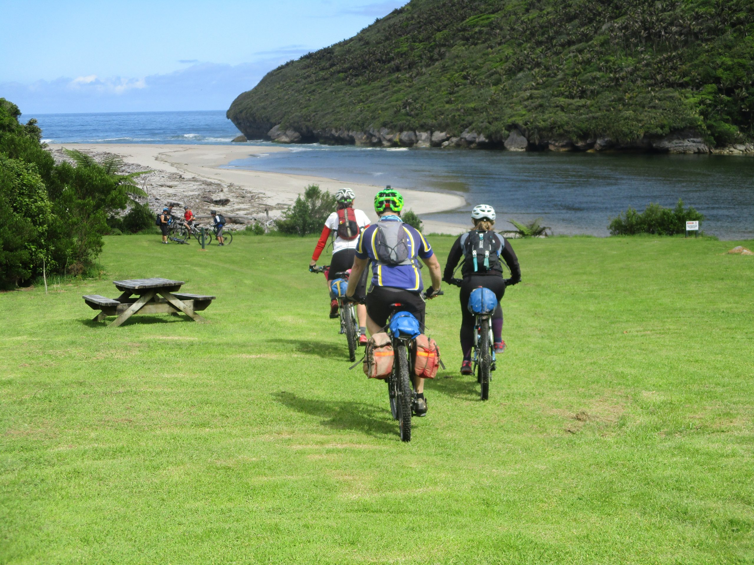 The goRide team's 'great' mountain biking adventure on the Heaphy Track