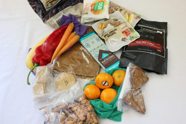 food for 1 - heaphy track