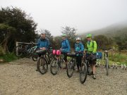 jacket & full MTB light set - protection in isolated areas