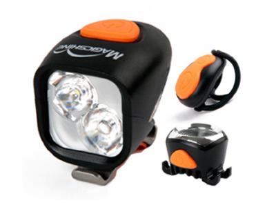 Night Riding Mountain Bike Light. MJ902 Combo. goRide