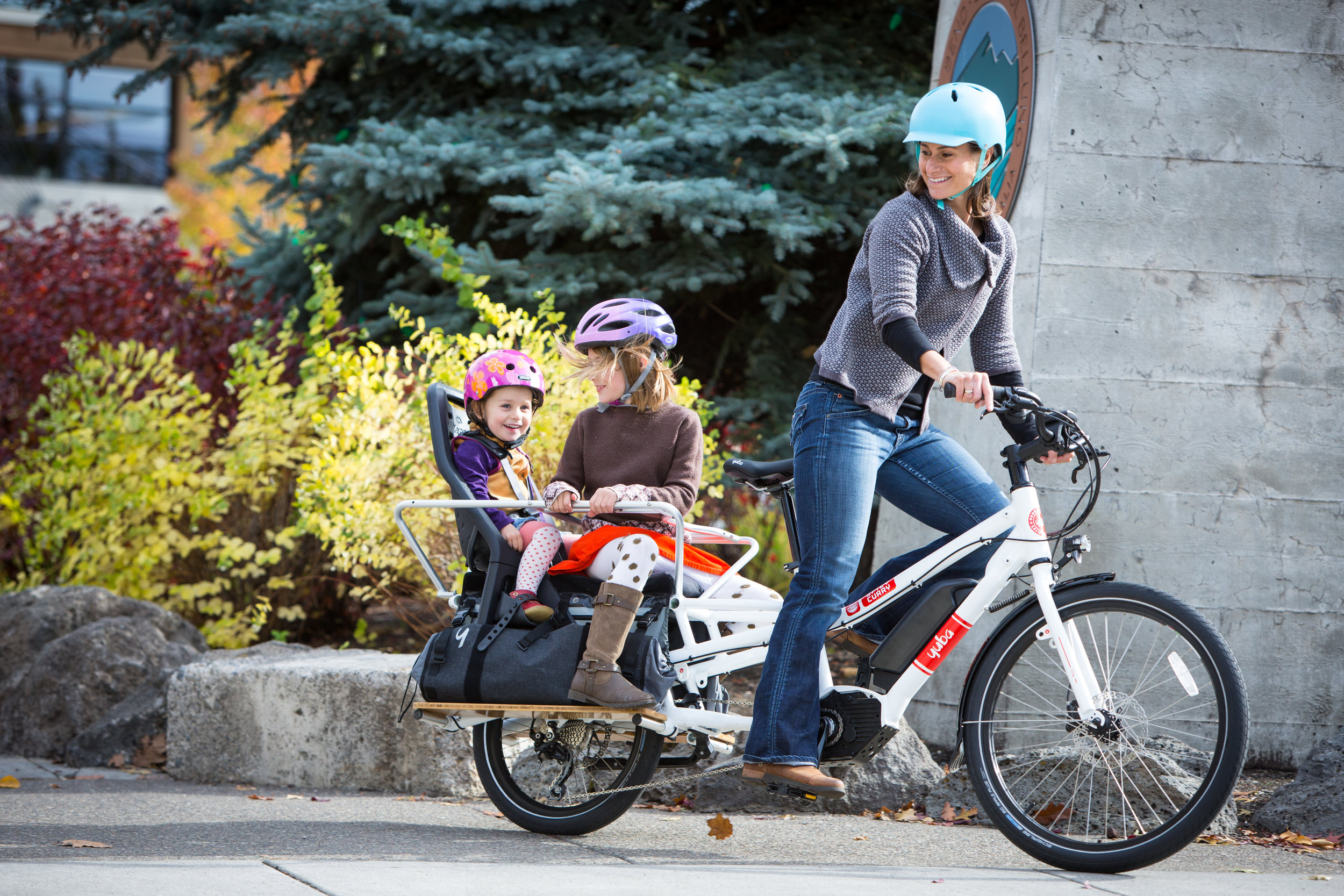 Using a Cargo Bike to Transport Your Family