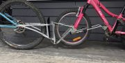 bike tow frame connects two bikes