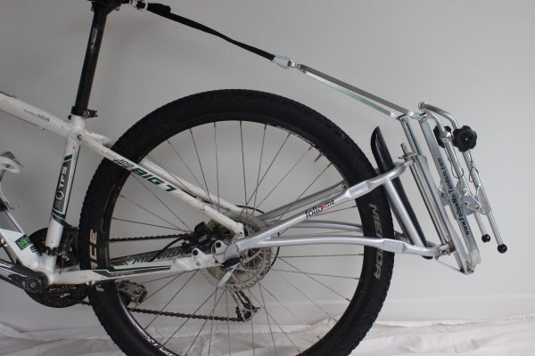 Bike tow Frame. Follow Me Tandem. Attached to adult bike.goRide
