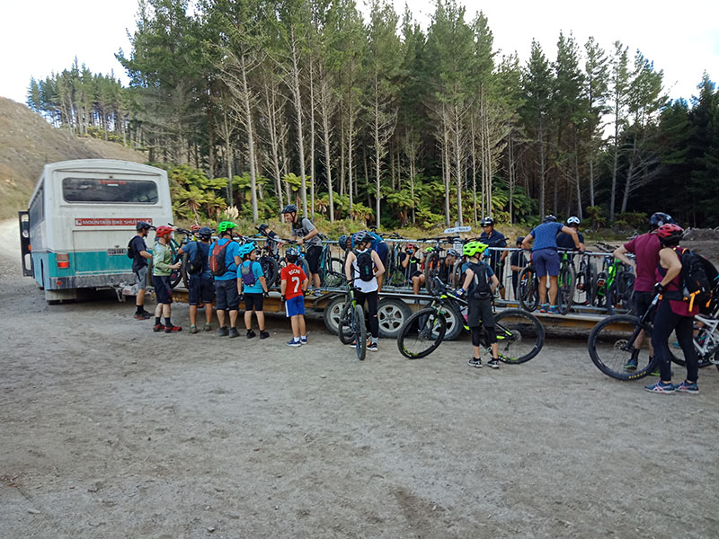 Rotorua Mountain Bike Park, NZ with Kids