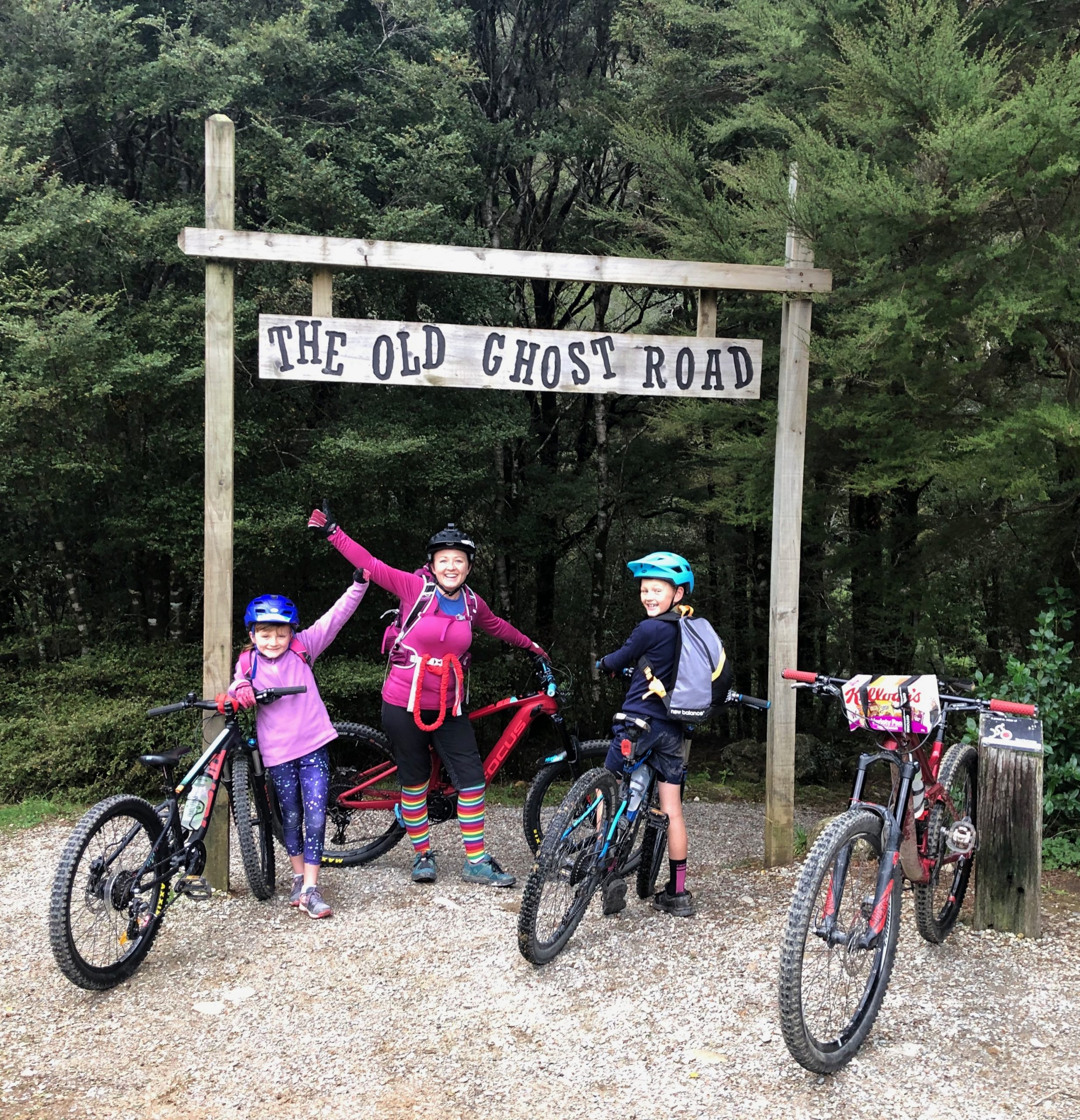 The Old Ghost Road – Family Sharing