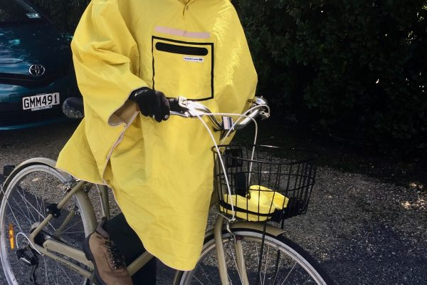 waterproof town jacket. Yellow goRide