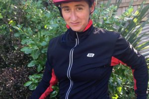 Thermal Jacket - reflective banding. goRide