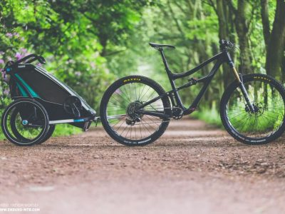 Bike trailers for kids - off road riding. goRide